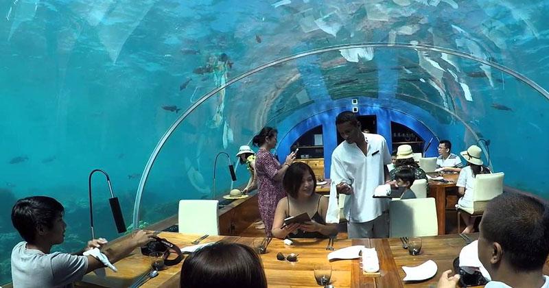 Ithaa Undersea Restaurant-